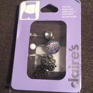 Claire's Belly rings